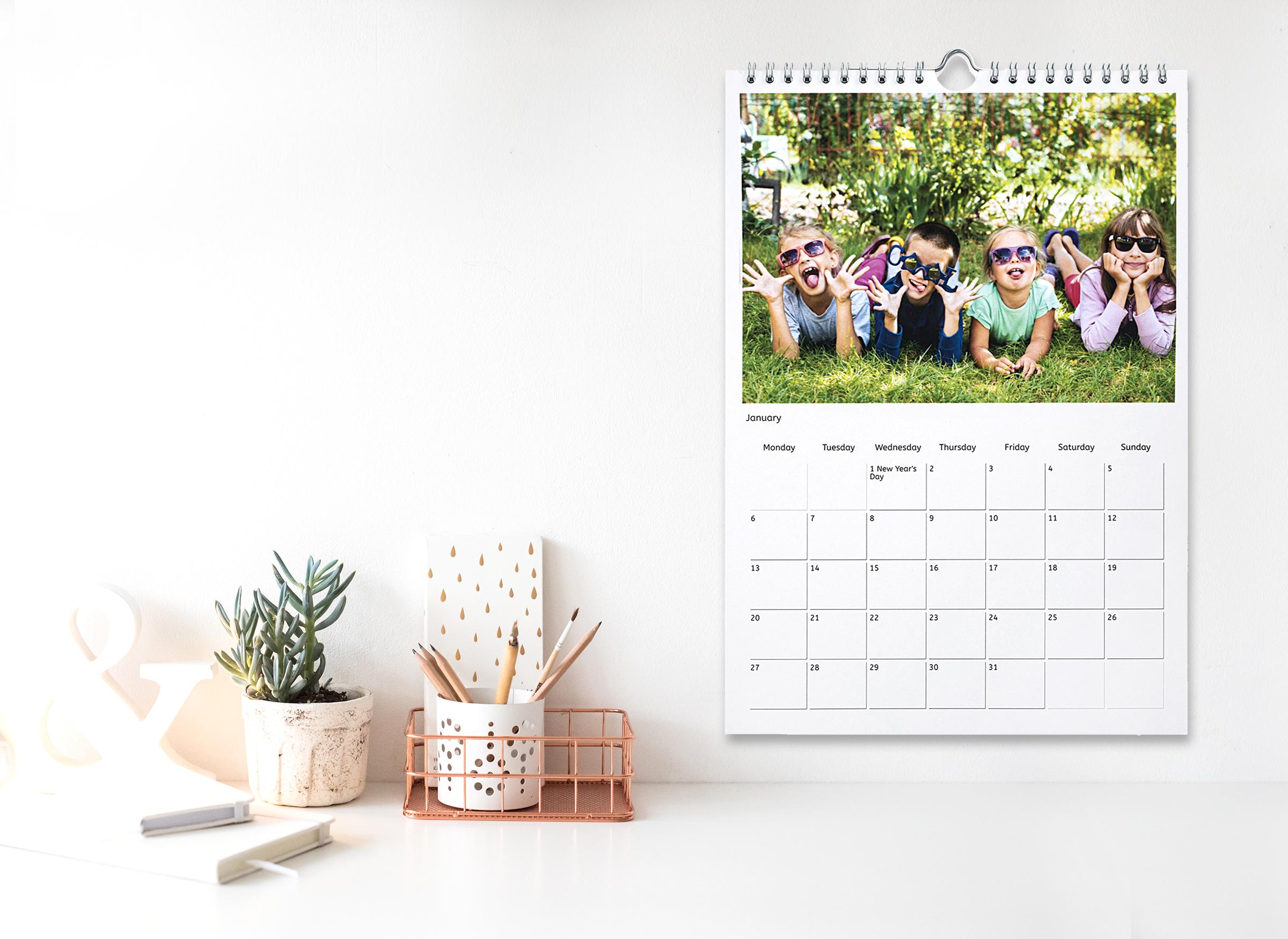 Personnalisez votre calendrier